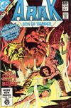 Cover for Arak / Son of Thunder (DC, 1981 series) #2 [Direct]