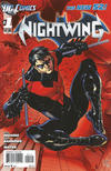 Cover Thumbnail for Nightwing (2011 series) #1 [Second Printing]