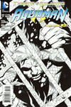 Cover for Aquaman (DC, 2011 series) #17 [Black & White Variant Cover by Paul Pelletier]