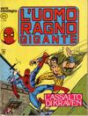 Cover for L'Uomo Ragno Gigante (Editoriale Corno, 1976 series) #6