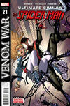 Cover for Ultimate Comics Spider-Man (Marvel, 2011 series) #21