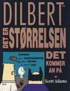 Cover for Dilbert [Dilbert bok] (Bladkompaniet / Schibsted, 1998 series) #1 - Det er størrelsen det kommer an på