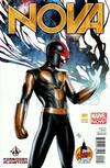 Cover Thumbnail for Nova (2013 series) #1 [Forbidden Planet London Super Con Exclusive by Adi Granov]