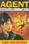 Cover for Agent Modesty Blaise (Semic, 1967 series) #12