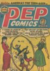 Cover for Pep Comics (H. John Edwards, 1951 series) #42