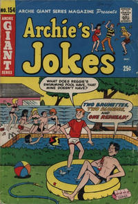 Cover Thumbnail for Archie Giant Series Magazine (Archie, 1954 series) #154