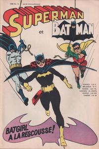 Cover Thumbnail for Superman et Batman (Interpresse; Sagédition, 1967 series) #14