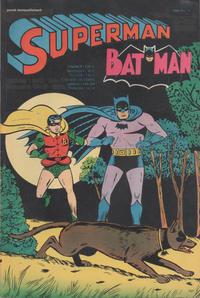 Cover Thumbnail for Superman et Batman (Interpresse; Sagédition, 1967 series) #15