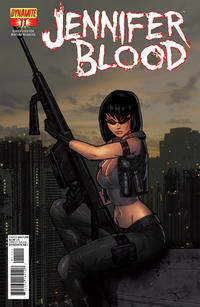 Cover Thumbnail for Jennifer Blood (Dynamite Entertainment, 2011 series) #11 [Cover B]