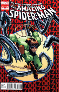 Cover Thumbnail for The Amazing Spider-Man (Marvel, 1999 series) #700 [2nd Printing Variant Cover by Humberto Ramos]