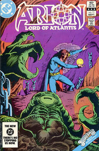 Cover Thumbnail for Arion, Lord of Atlantis (DC, 1982 series) #11 [Direct]