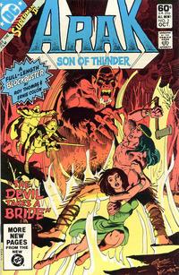 Cover Thumbnail for Arak / Son of Thunder (DC, 1981 series) #2 [Direct]