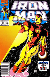 Cover for Iron Man (Marvel, 1968 series) #256 [Newsstand]