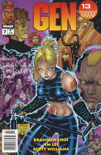 Cover Thumbnail for Gen 13 (Image, 1995 series) #7 [Newsstand]