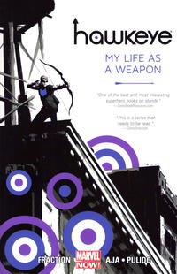 Cover Thumbnail for Hawkeye (Marvel, 2013 series) #1 - My Life as a Weapon