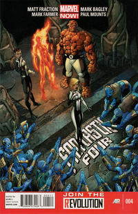 Cover Thumbnail for Fantastic Four (Marvel, 2013 series) #4