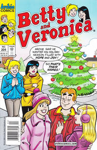 Cover Thumbnail for Betty and Veronica (Archie, 1987 series) #204 [Newsstand]