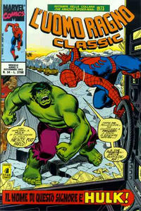 Cover Thumbnail for L'Uomo Ragno Classic (Edizioni Star Comics, 1991 series) #34