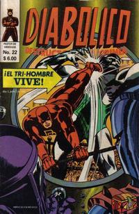 Cover Thumbnail for Diabolico (Novedades, 1981 series) #22