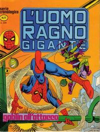 Cover Thumbnail for L'Uomo Ragno Gigante (Editoriale Corno, 1976 series) #11