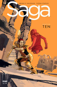 Cover for Saga (Image, 2012 series) #10