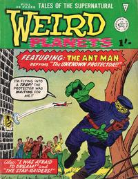 Cover Thumbnail for Weird Planets (Alan Class, 1962 series) #4