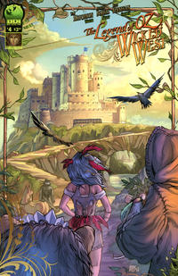 Cover for Legend of Oz: The Wicked West (Big Dog Ink, 2012 series) #4 [Cover B by Nei Ruffino]