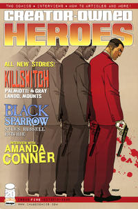 Cover Thumbnail for Creator-Owned Heroes (Image, 2012 series) #5 [Killswitch Cover]