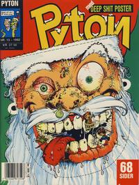 Cover Thumbnail for Pyton (Bladkompaniet / Schibsted, 1988 series) #13/1992
