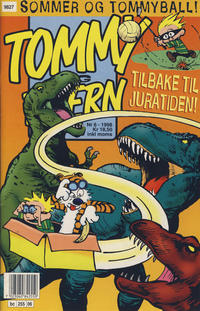 Cover Thumbnail for Tommy og Tigern (Bladkompaniet, 1989 series) #6/1998