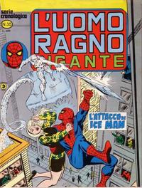 Cover Thumbnail for L'Uomo Ragno Gigante (Editoriale Corno, 1976 series) #35