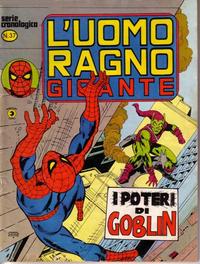 Cover Thumbnail for L'Uomo Ragno Gigante (Editoriale Corno, 1976 series) #37