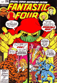 Cover Thumbnail for Fantastic Four (Yaffa / Page, 1979 ? series) #196