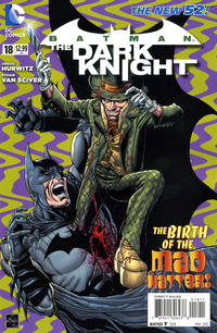 Cover Thumbnail for Batman: The Dark Knight (DC, 2011 series) #18 [Direct Sales]