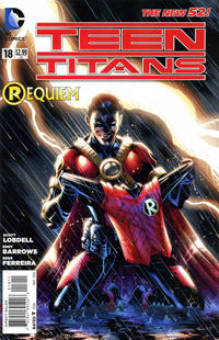 Cover Thumbnail for Teen Titans (DC, 2011 series) #18