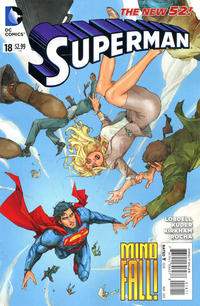 Cover Thumbnail for Superman (DC, 2011 series) #18