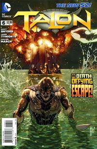 Cover Thumbnail for Talon (DC, 2012 series) #6