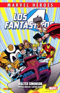 Cover Thumbnail for Marvel Héroes (Panini España, 2012 series) #45 - Los 4 Fantásticos de Walter Simonson