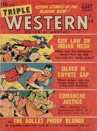 Cover Thumbnail for Triple Western Pictorial Monthly (Magazine Management, 1955 series) #9