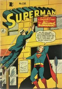 Cover Thumbnail for Superman (K. G. Murray, 1947 series) #130