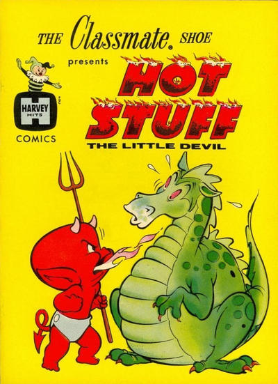 Cover for Hot Stuff the Little Devil (Harvey, 1962 series) #[nn] [American Juniors Shoes]