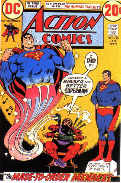 Cover for Action Comics (DC, 1938 series) #420