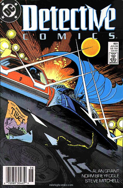 Cover for Detective Comics (DC, 1937 series) #601 [Direct Edition]