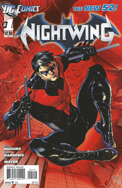 Cover for Nightwing (DC, 2011 series) #1