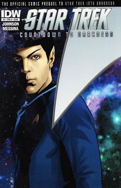 Cover for Star Trek Countdown to Darkness (IDW, 2013 series) #3 [Cover B Photo Cover]