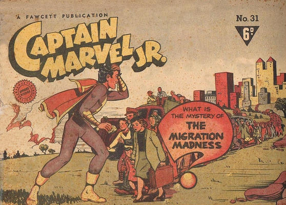 Cover for Captain Marvel Jr. (Cleland, 1947 series) #31