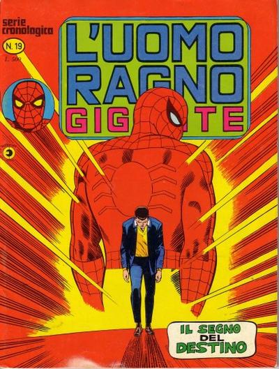 Cover for L'Uomo Ragno Gigante (Editoriale Corno, 1976 series) #19