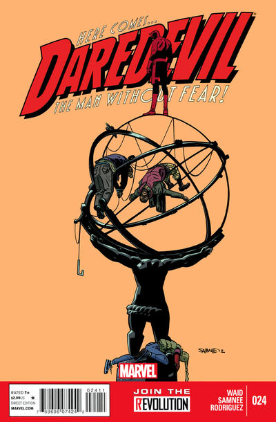 Cover for Daredevil (Marvel, 2011 series) #24