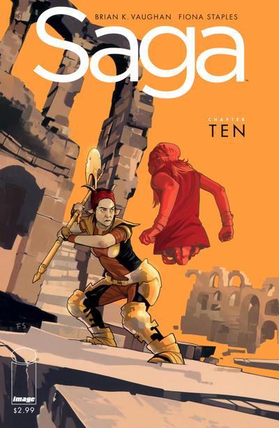 Cover for Saga (Image, 2012 series) #10