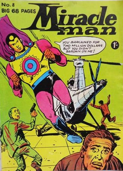 Cover for Miracle Man (Thorpe & Porter, 1965 series) #8